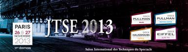 JTSE 2013 26 & 27 Novembre 2013 Dock Pullman à Paris