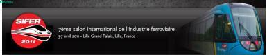 Salon Ferroviaire : Techno Logistique au SIFER 2011