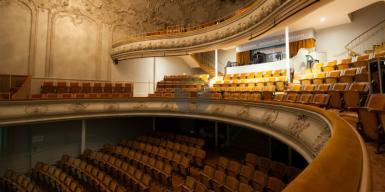Rénovation des sièges du théâtre de Châtel-Guyon