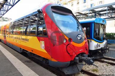Rénovation des sièges des trains de Chemins de Fer en Provence PACA