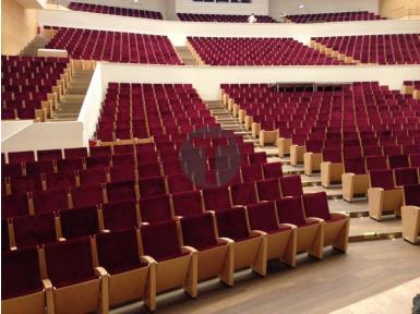 Inauguration des fauteuils de l'auditorium de la salle du Nouveau Siècle de Lille
