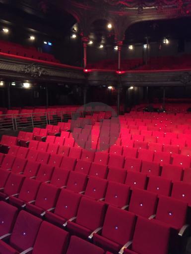 Rénovation des sièges de La Cigale, témoignage du régisseur général Gérard Cailliau
