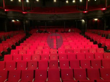 Rénovation des sièges de La Cigale à Paris