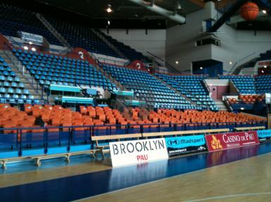 Rénovation des sièges du Palais des Sports de Pau-Orthez