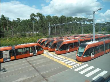 Réfection des sièges du tramway du Mans Metropole