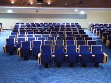 Rénovation des sièges de la salle Pierre Laroque au Ministère de la Santé