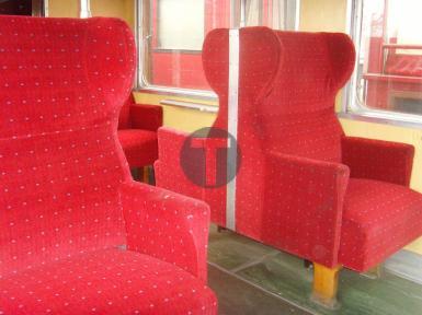 Rénovation des sièges du Train Touristique de la Mure